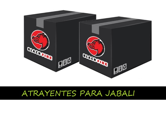 RECLAMOS Y ATRAYENTES BLACK FIRE PARA JABALI